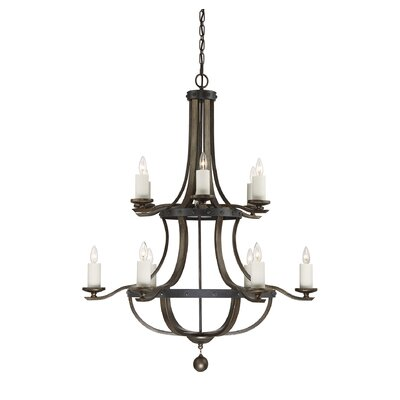 Wilburton 12-Light Candle-Style Chandelier