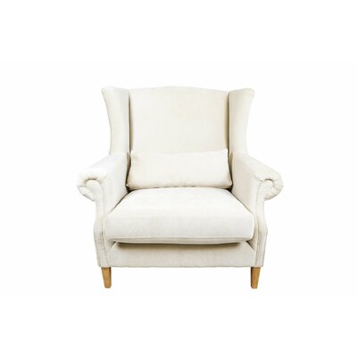 Castella Wingback Chair Upholstery: Beige