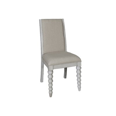 Saguenay Side Chair (Set of 2) Finish: Dove Gray