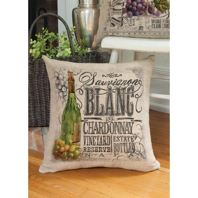 Blakeslee Contemporary Wine Country Throw Pillow