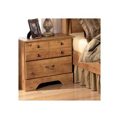 Cheyanne 2 Drawer Nightstand