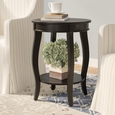 Kellie End Table Color: Black
