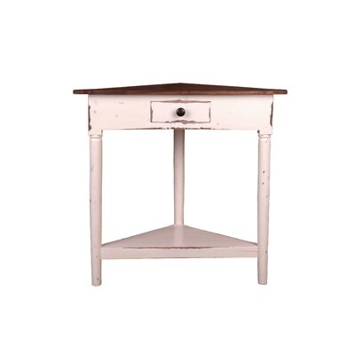 Tompkins Rustic Corner End Table
