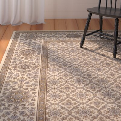 Saire Brown Area Rug Rug Size: 92 x 125
