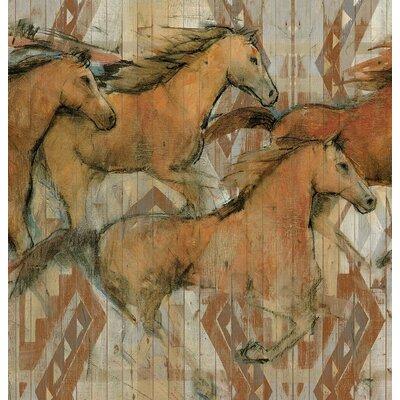 Karson Horses Shower Curtain