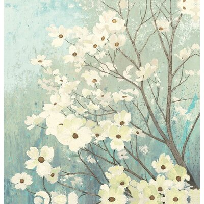 Oretha Dogwood Blossoms Shower Curtain