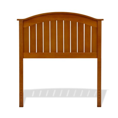 Goodridge Panel Headboard Size: Twin, Color: Maple