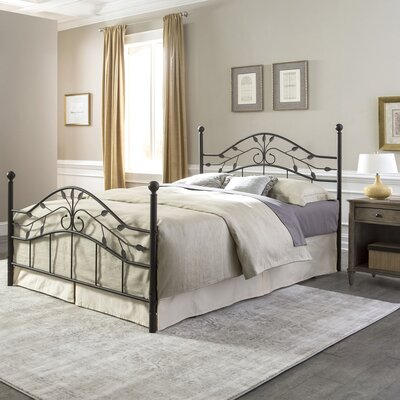 Madawaska Modern Panel Bed Size: King