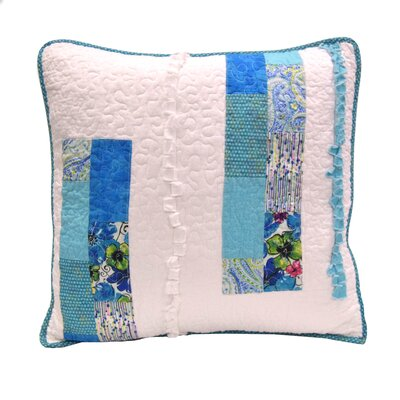 Angeline Stripe 100% Cotton Throw Pillow