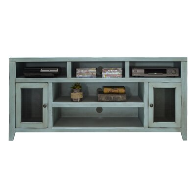 Purington 66 TV Stand Color: Blue