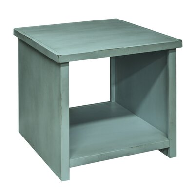 Bess End Table Finish: Blue