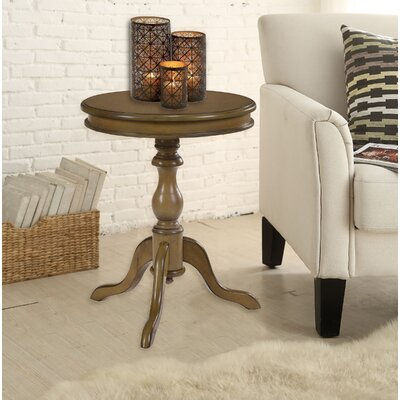 Celestine End Table Color: Harvest Oak