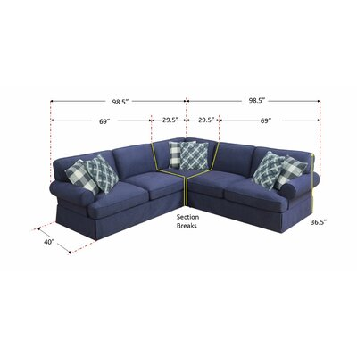 Golden Valley Reversible Sectional