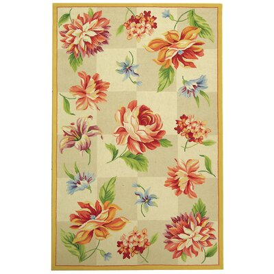 Kinchen Ivory Area Rug Rug Size: Rectangle 53 x 83