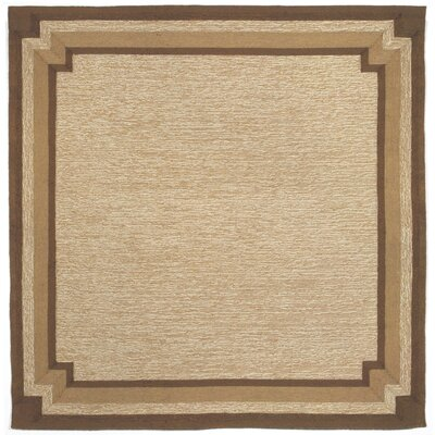 Dazey Natural Border Outdoor Rug Rug Size: Rectangle 36 x 56
