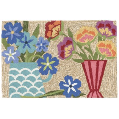 Ismay Still Life Multi Indoor/Outdoor Area Rug Rug Size: 2 x 3