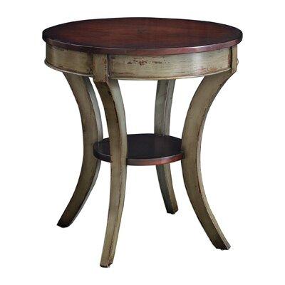 Ouellette Wooden End Table
