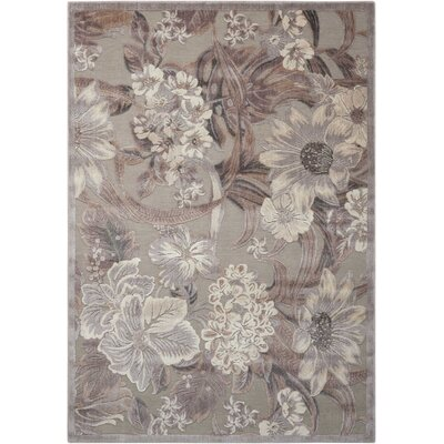 Galva Gray Area Rug Rug Size: Rectangle 53 x 75