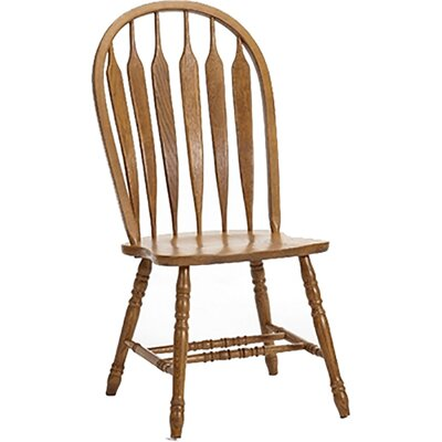 Akron Windsor Back Solid Wood Dining Chair (Set of 2)