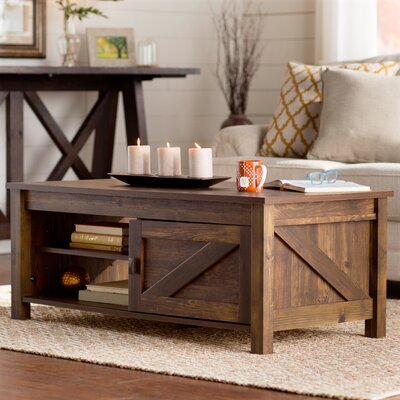 Gilby Coffee Table Color: Century Barn Pine