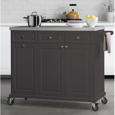 Philippe Kitchen Cart Base Finish: Charcoal