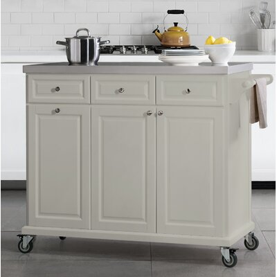 Philippe Kitchen Cart Base Finish: Gray