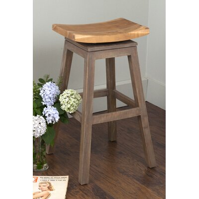 Probst 29 Bar Stool Frame Color: Costello