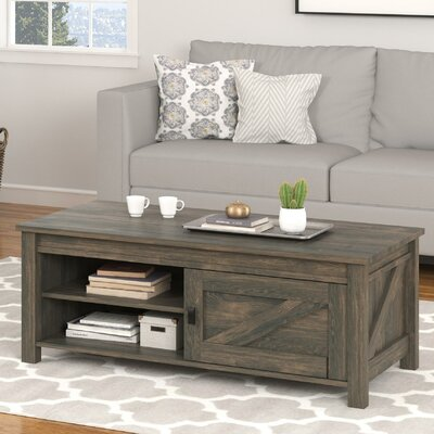 Gilby Coffee Table Color: Weathered Oak
