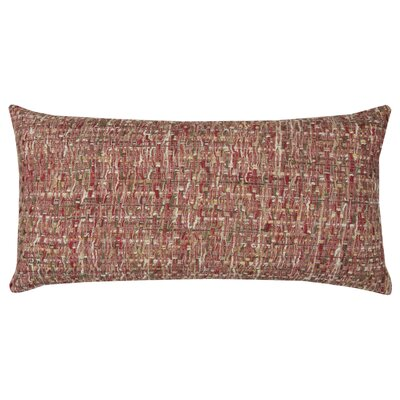 Lorimier Cotton Pillow Cover Color: Red