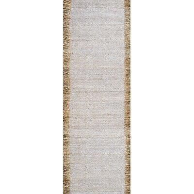 Wren Gray Area Rug Rug Size: Runner 26 x 8