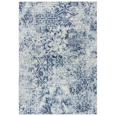 Francine Ivory Area Rug Rug Size: Rectangle 53 x 76