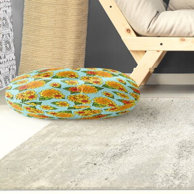 Lambersart Indoor/Outdoor Floor Pillow Size: 26 H x 26 W x 8 D