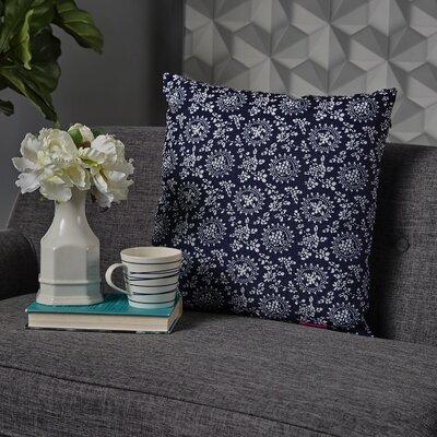 Leaper Modern Throw Pillow Pillow Cover Color: Dark Blue