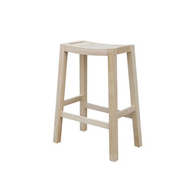 Laurier 30 Bar Stool Color: Unfinished