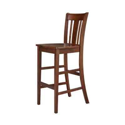 Laurier 30 Bar Stool Color: Espresso