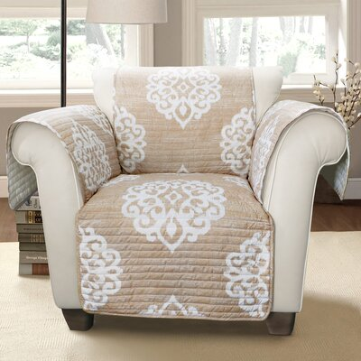 Stroudsburg Box Cushion Armchair Slipcover Color: Taupe