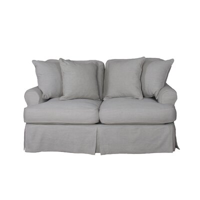 Callie T-Cushion Loveseat Slipcover