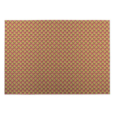 Lance Hibiscus Doormat Mat Size: Rectangle 8 x 10