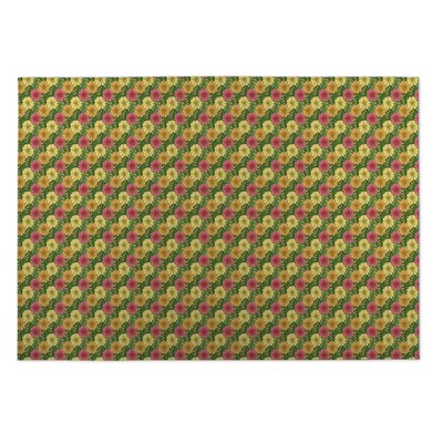 Ron Hibiscus Doormat Mat Size: Rectangle 4 x 5