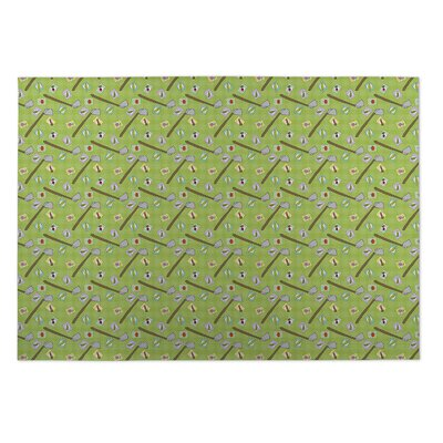 Doria Planting Indoor/Outdoor Doormat Rug Size: 4 x 5