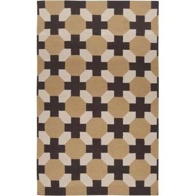 Wallace Checked Area Rug Rug Size: Rectangle 5 x 8