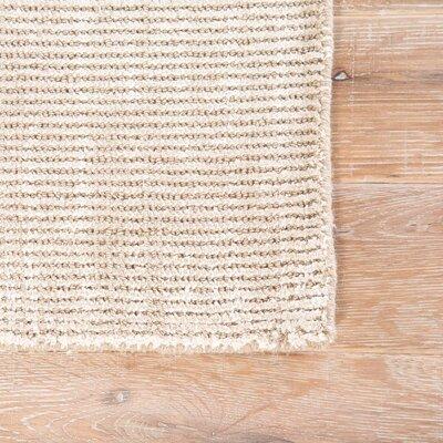 Nan Hand-Loomed Tuffett/Birch Area Rug Rug Size: Rectangle 5 x 8