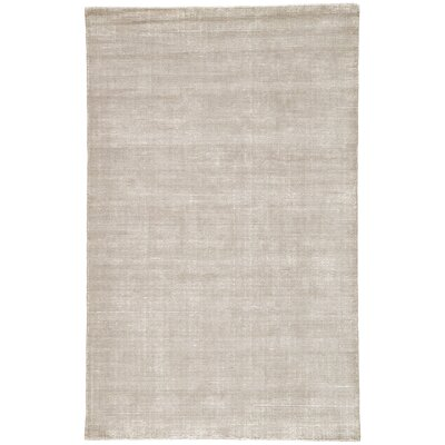 Nan Hand-Loomed Frost Gray/Birch Area Rug Rug Size: Rectangle 5 x 8