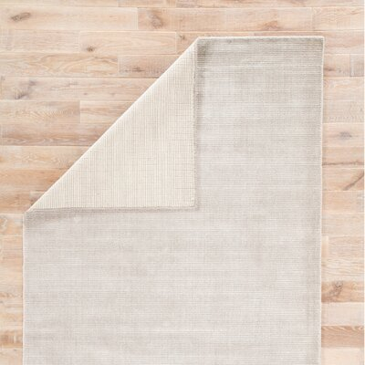 Nan Hand-Loomed Moonstruck/Ash Area Rug Rug Size: Rectangle 8 x 11