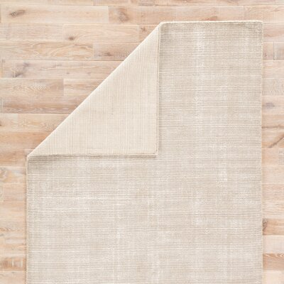 Nan Hand-Loomed Tuffett/Birch Area Rug Rug Size: Rectangle 2 x 3
