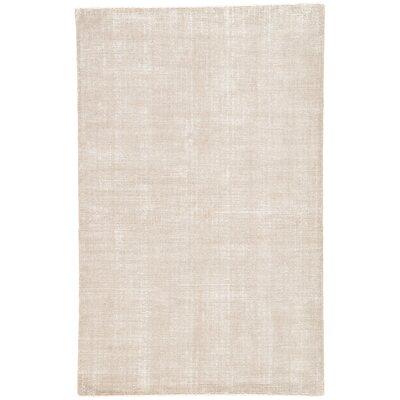 Nan Hand-Loomed Tuffett/Birch Area Rug Rug Size: Rectangle 2 x 3