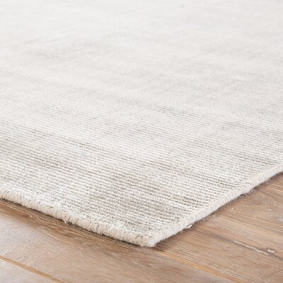 Nan Hand-Loomed Moonstruck/Ash Area Rug Rug Size: Rectangle 9 x 13