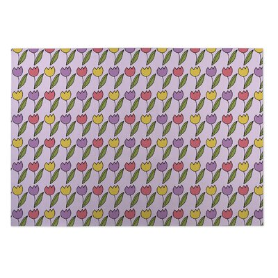 Bridges Tulips Doormat
