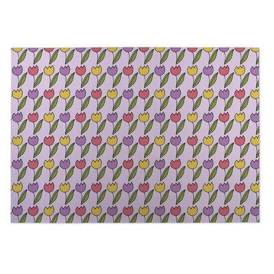 Bridges Tulips Doormat