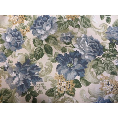Abha Ottoman Upholstery: Garden Scroll
